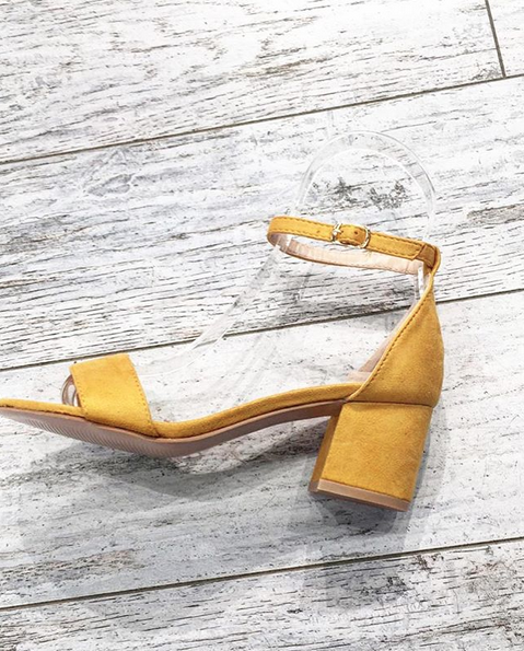 SUMMER SPECIAL YELLOW SANDALS