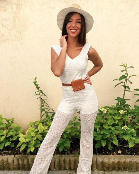 LACE JUMPSUIT WHITE