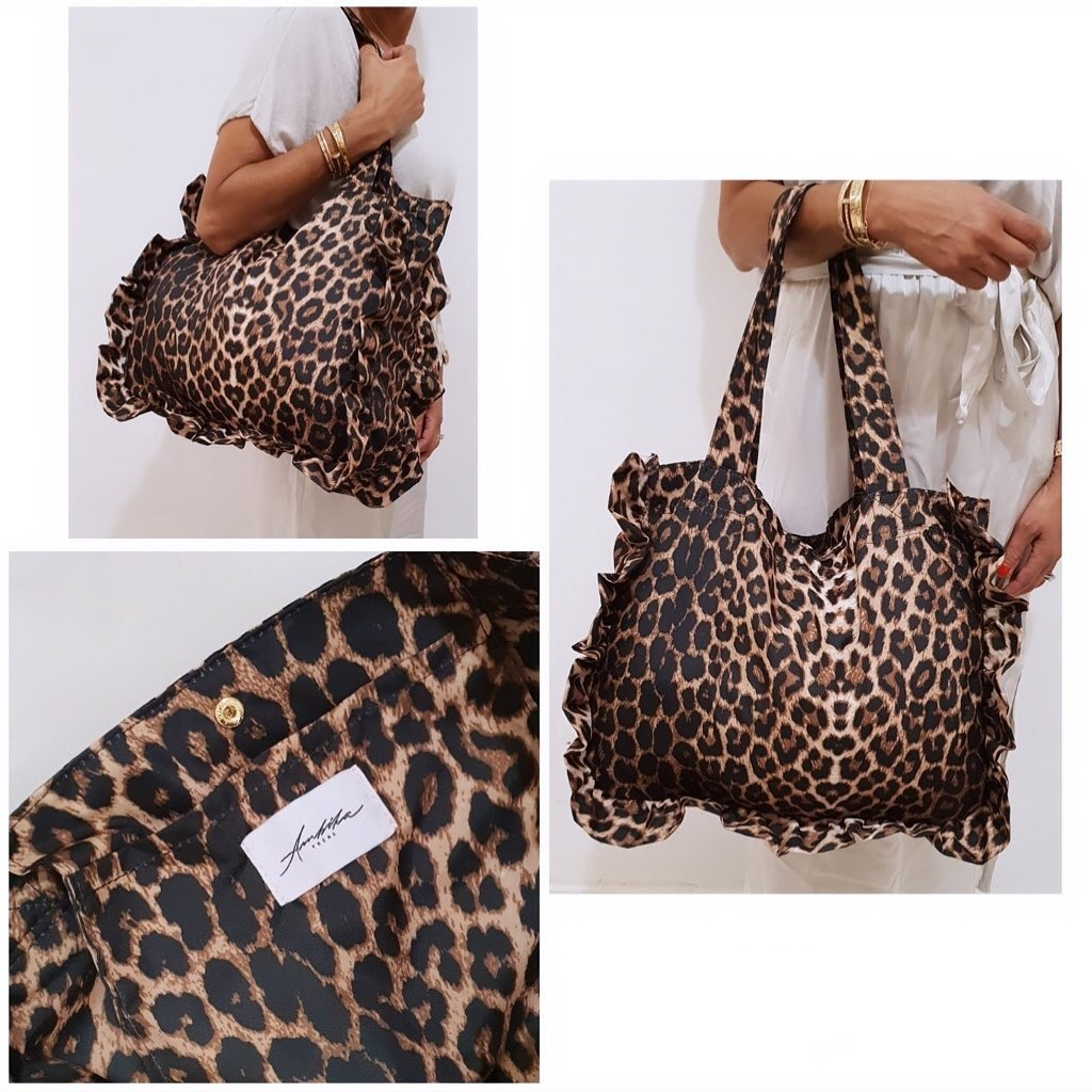 LEOPARD SHOPPER