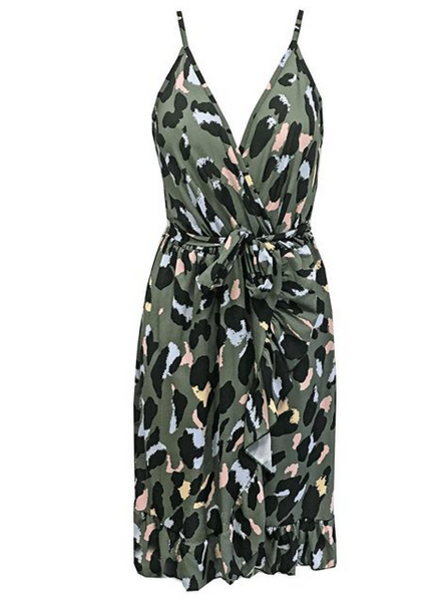KATE DRESS LEO ARMY 3.0