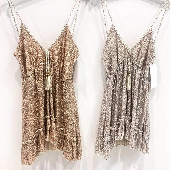 EXCLUSIVE GOLDEN DRESS
