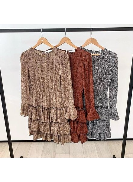 THIS FALL DRESS BROWN
