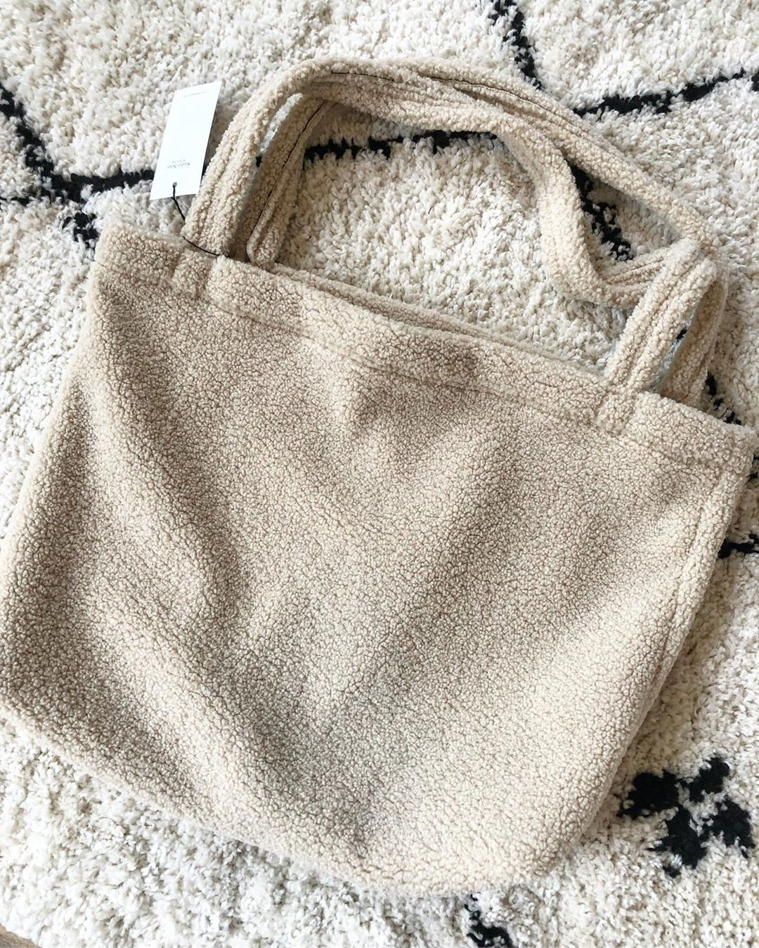 TEDDY CHUNKY MOM BAG