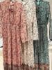 SCOTTIE DRESS GREEN