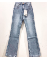 QUEEN JEANS FLARED BLUE