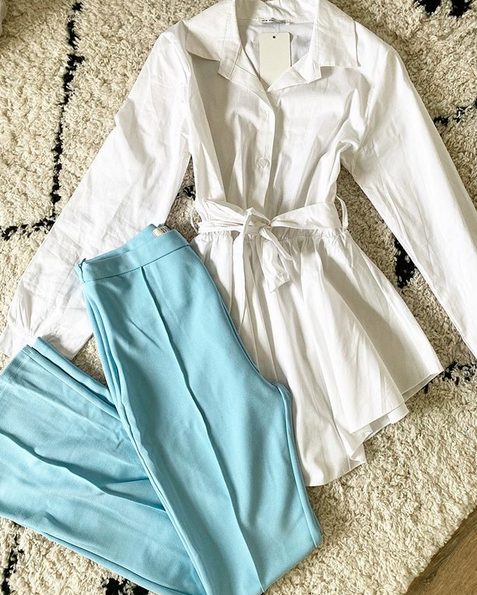 BASIC BLOUSE WHITE
