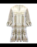 IBIZA BEIGE DRESS COTTON