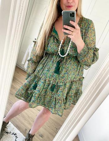 RUBY GREEN DRESS