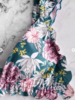 ELLA FLOWER BIKINI BLUE/GREEN