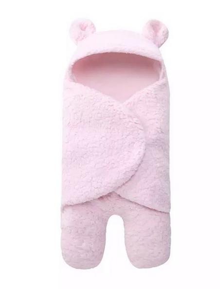 TEDDY BLANKET BABY PINK