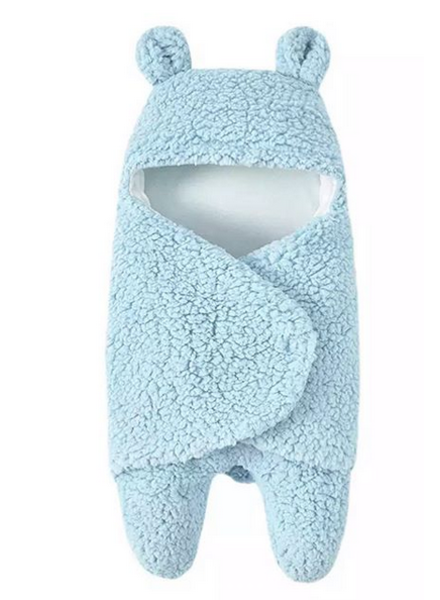 TEDDY BLANKET BABY BLUE