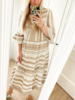 TOULOUZE DRESS BEIGE