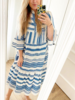 TOULOUZE DRESS BLUE