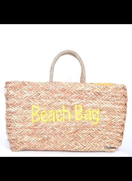 BEACH BAG YELLOW