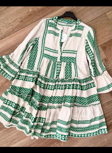 GREEN MALIBU DRESS