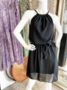 GEORGIE DRESS SHORT BLACK