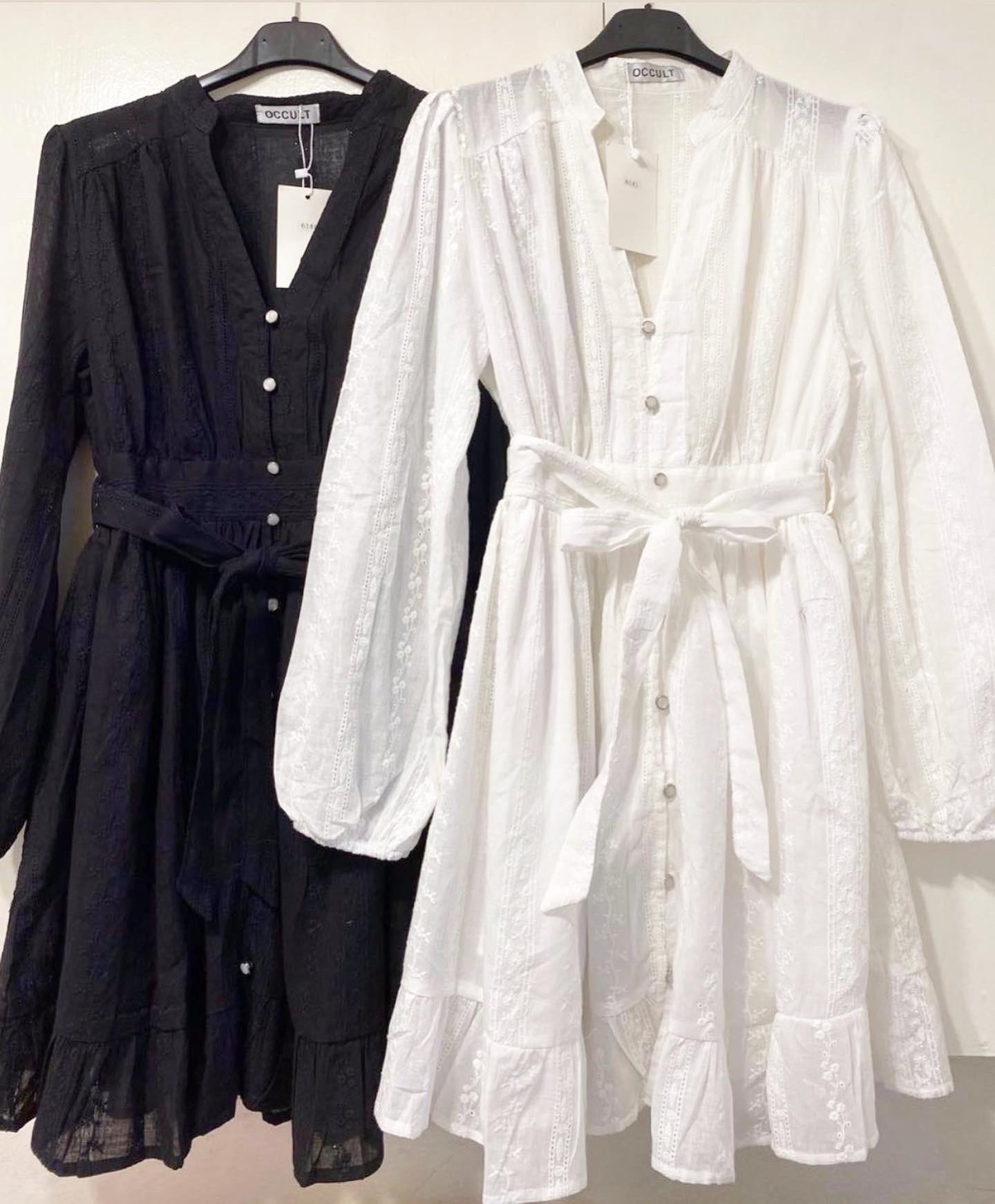 MARIE DRESS BLACK