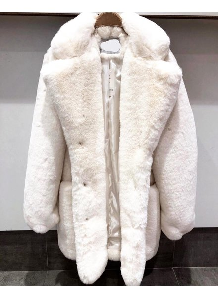 SOFT TEDDY OFF WHITE