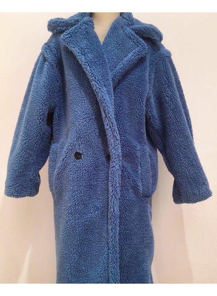 TEDDY COAT NEW BLUE