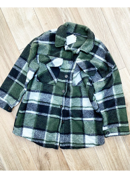 ANNA FALL JACKET GREEN