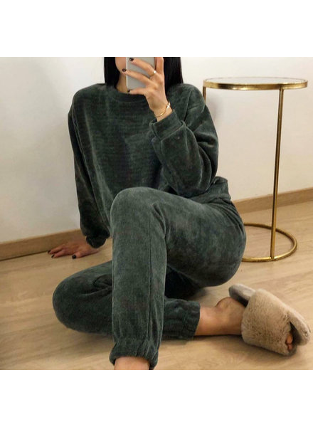 REBECCA COMFY SUIT ARMY