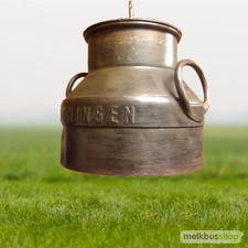 Melkbus Hanglamp Deksel - bronskleur