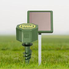 Windhager Woelrat Stop Solar voor Professioneel Ultrasoon Woelratten Verjagen tot 1000M2