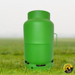 Gasbus 30 liter voor carbid schieten met Garantie