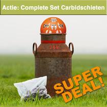 Actie: Complete Set Carbidschieten
