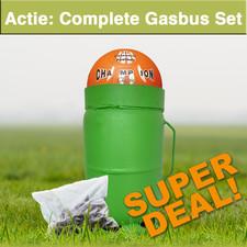 Actie: Complete Gasbus-Set Carbidschieten