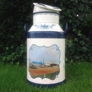 """Decoratieve Melkbus 30 Liter """"Saab - De Takomst"""" [0% btw]"""