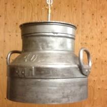 Melkbus Hanglamp Deksel - metaalkleur