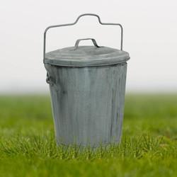 Zinken Vuilnisemmer / Prullenbak / Vuilnisbak kopen [0% btw] 55L.