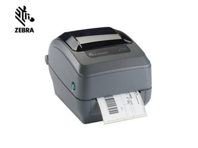 Koop hier de beroemde GK420d labelprinter van Zebra uit