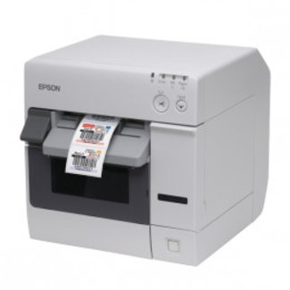 Epson Epson ColorWorks C3400, cutter, Ethernet, NiceLabel, wit