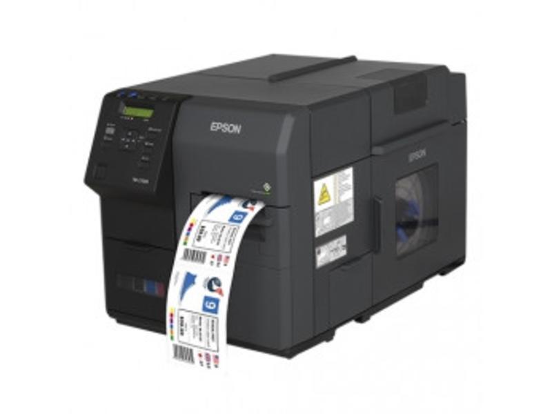 Epson ColorWorks C7500G, cutter, disp., USB, Ethernet, zwart