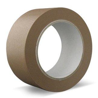 Euro-Label 36 rollen - Papier | Solvent - Verpakkingstape bruin
