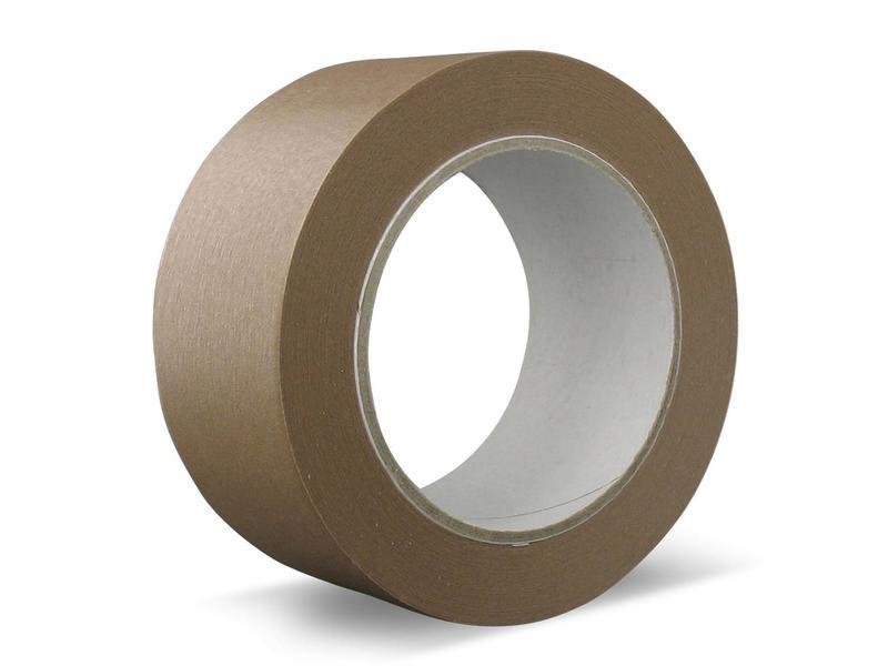 36 rollen - Papier | Solvent - Verpakkingstape bruin