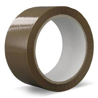 Euro-Label 36 rollen verpakkingstape PVC | Solvent (bruin)