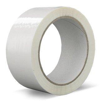 Euro-Label 36 rollen verpakkingstape PVC | Solvent (Wit)