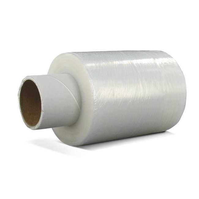 Euro-Label 40 rollen x 150 meter - Stretchfolie - transparant  (Ø38 mm - 140mm x 20µ)
