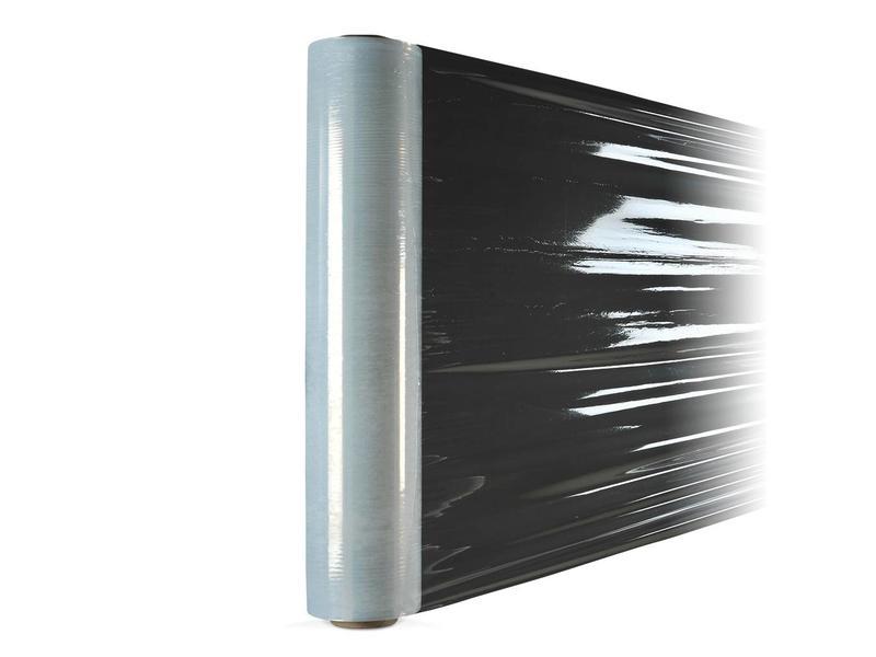 Euro-Label 6 rollen stretchfolie met gladde buitenzijde (50cm x 300meter x 23µ)