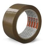 Euro-Label Verpakkingstape - 36 rollen - Musclepack® | PP | AC | Low noise (Bruin)