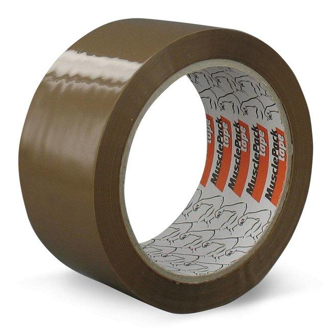 Euro-Label 36 rollen - Musclepack® | PP | AC | Low noise (Bruin)