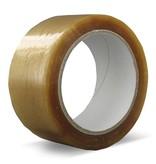 Euro-Label 1 Doos van 36 ROLLEN VERPAKKINGSTAPE PVC   SOLVENT (Transparant)