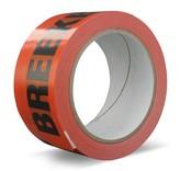 Euro-Label 36 rollen -  Oranje verpakkingstape (PVC) - Breekbaar/Fragile