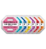 Euro-Label Nieuw! Schokindicatoren voor verzendingen (10 stuks)