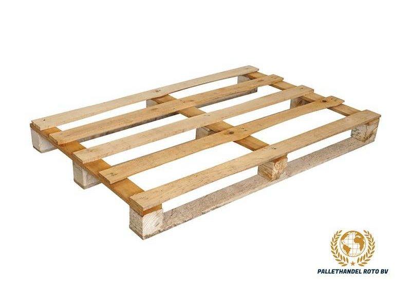 Roto-Pallets BV Blokpallet open eenmalig (5 lat) 80x120cm, gebruikt