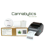 ZEBRA Cannabytics labelprinters, etiketten en kassa en pinrollen