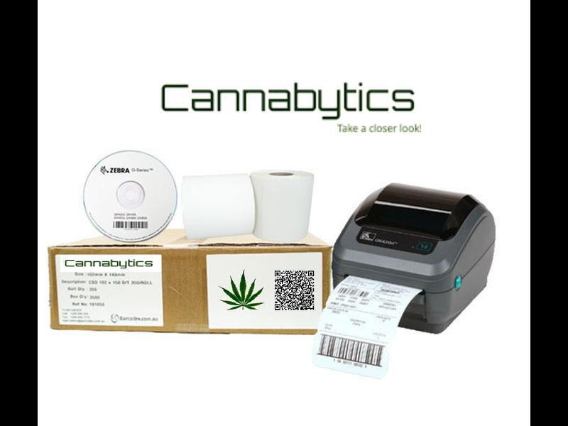 Cannabytics labelprinters en etiketten